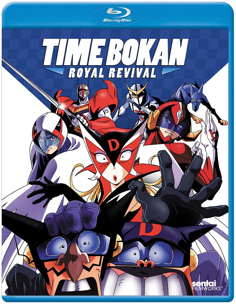 Time Bokan OVA Royal Revival Blu-ray 814131015846