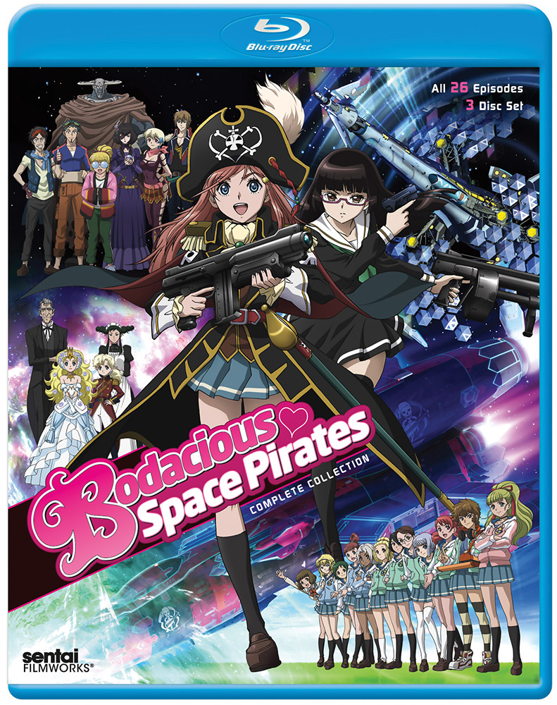 Bodacious Space Pirates Complete Collection Blu-ray 814131015853