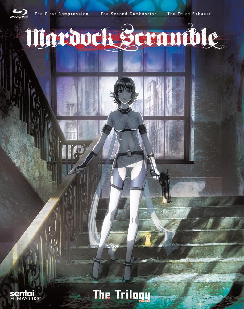Mardock Scramble Trilogy Triple Feature Blu-ray 814131015860