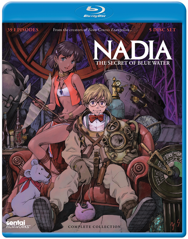 Nadia The Secret of Blue Water Blu-ray 814131015945