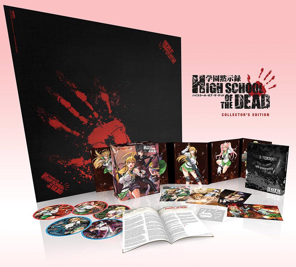 Highschool of the Dead TV + OVA Collector's Edition Blu-ray/DVD