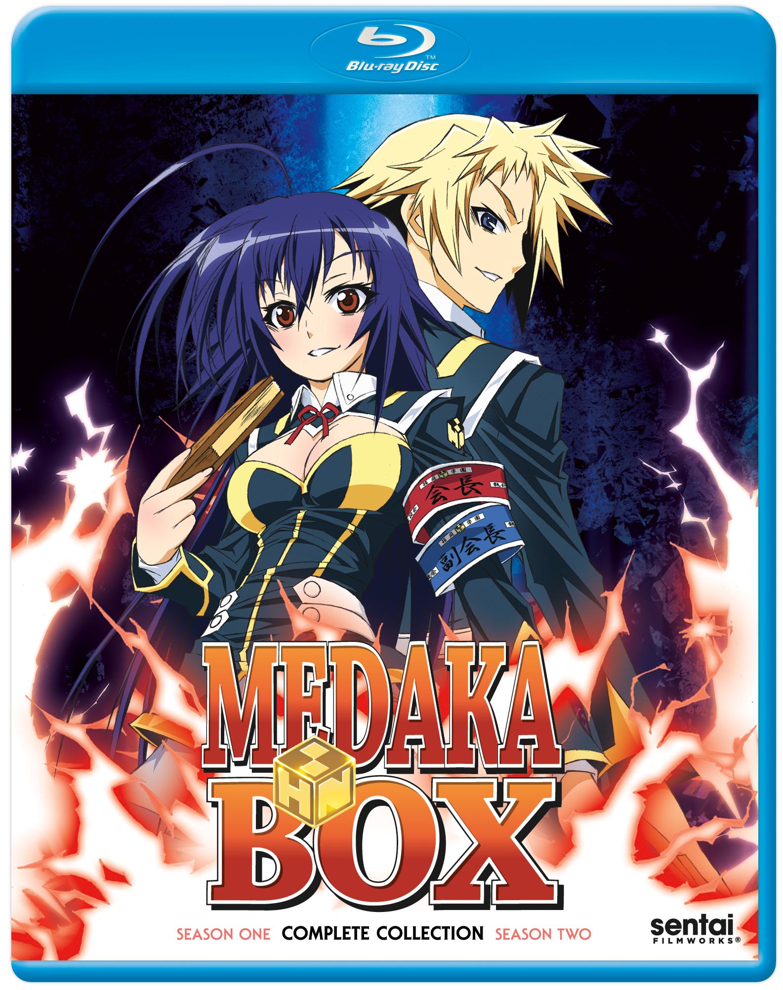 Medaka Box Complete Collection Blu Ray