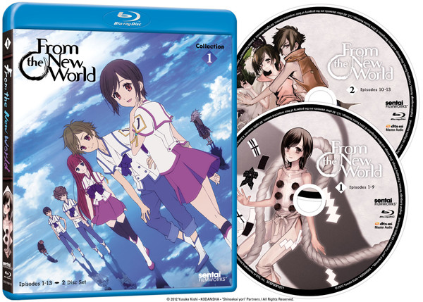 From the New World Collection 1 Blu-ray