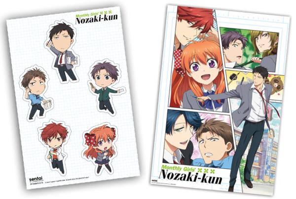 Monthly Girls' Nozaki-kun Limited Edition Box Set Blu-ray/DVD + CD