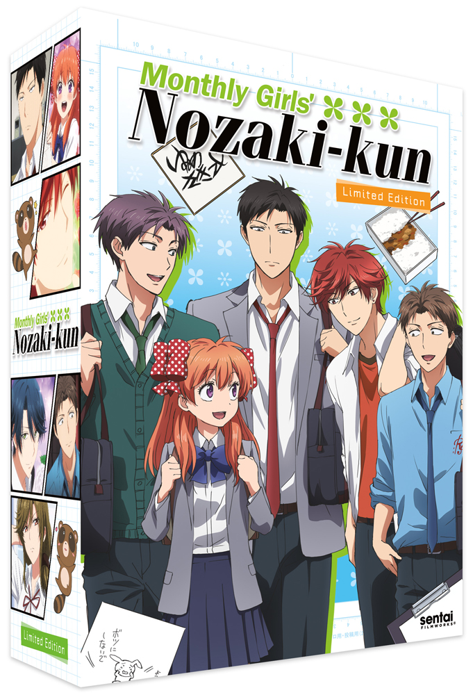 Monthly Girls' Nozaki-kun Box Set Limited Edition Blu-ray/DVD + CD