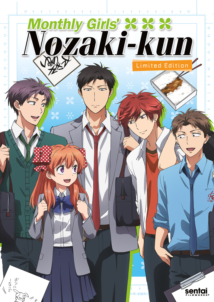 Monthly Girls' Nozaki-kun Limited Edition Box Set Blu-ray/DVD + CD 814131016188