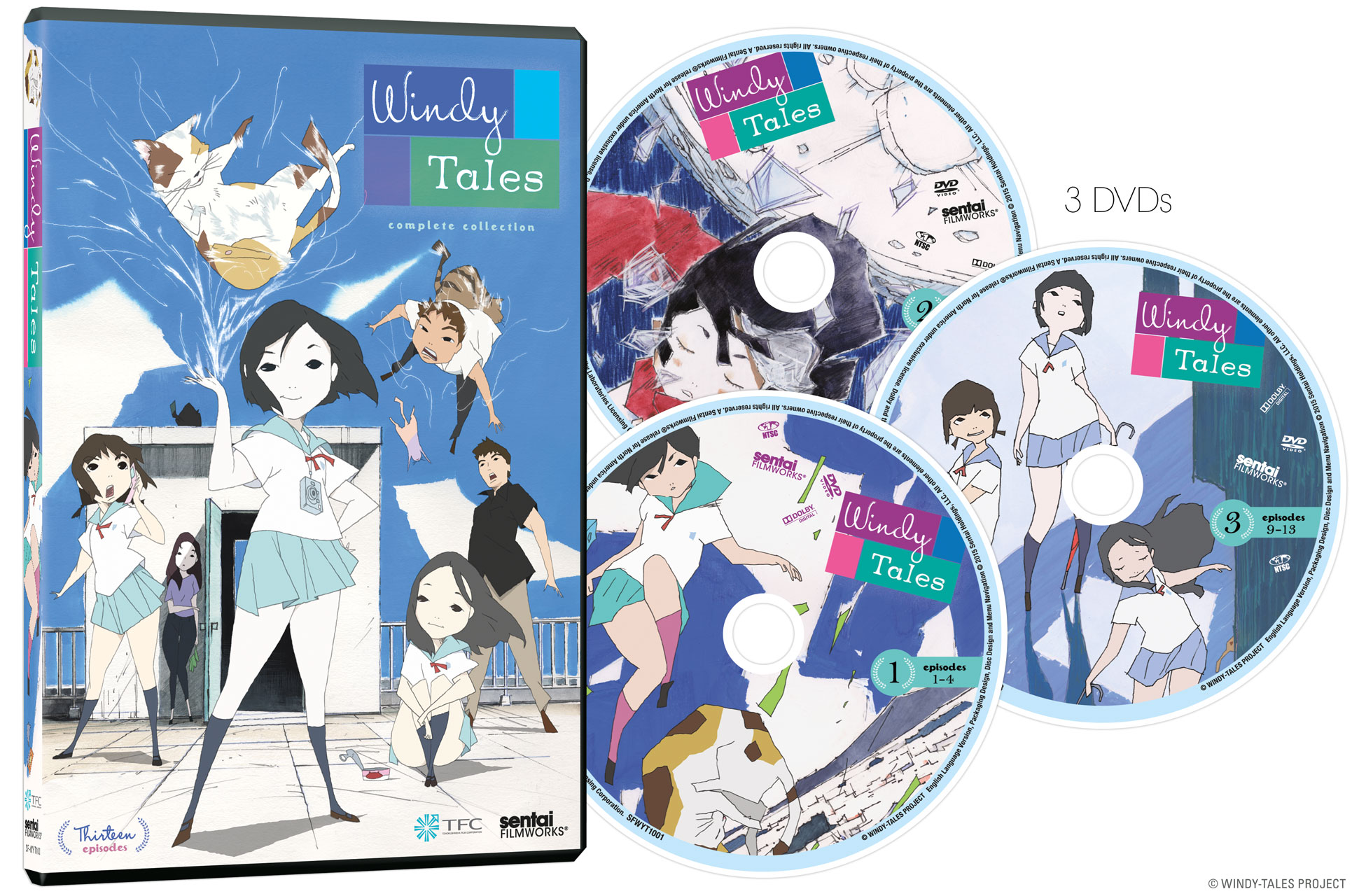 Windy Tales DVD