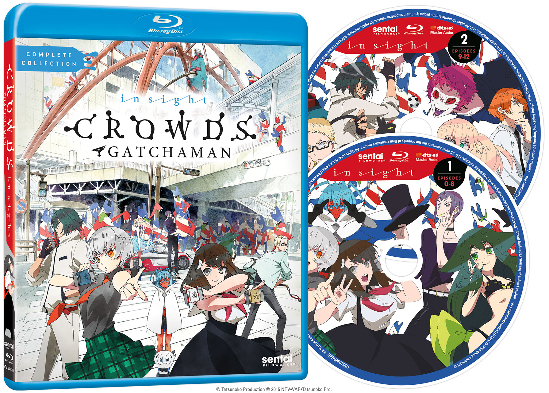 Gatchaman Crowds insight Blu-ray