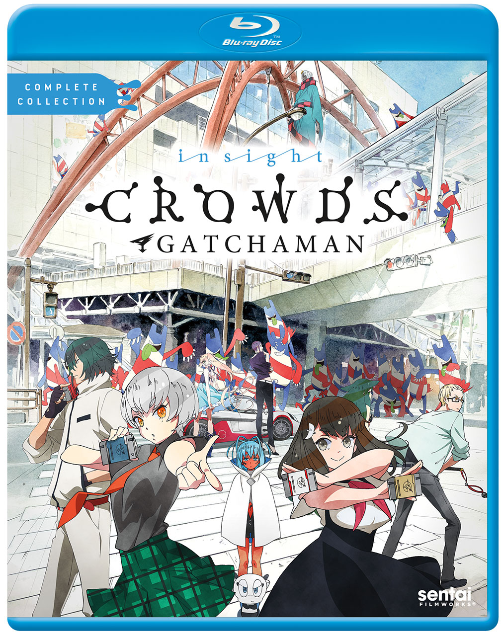 Gatchaman Crowds insight Blu-ray 814131016393