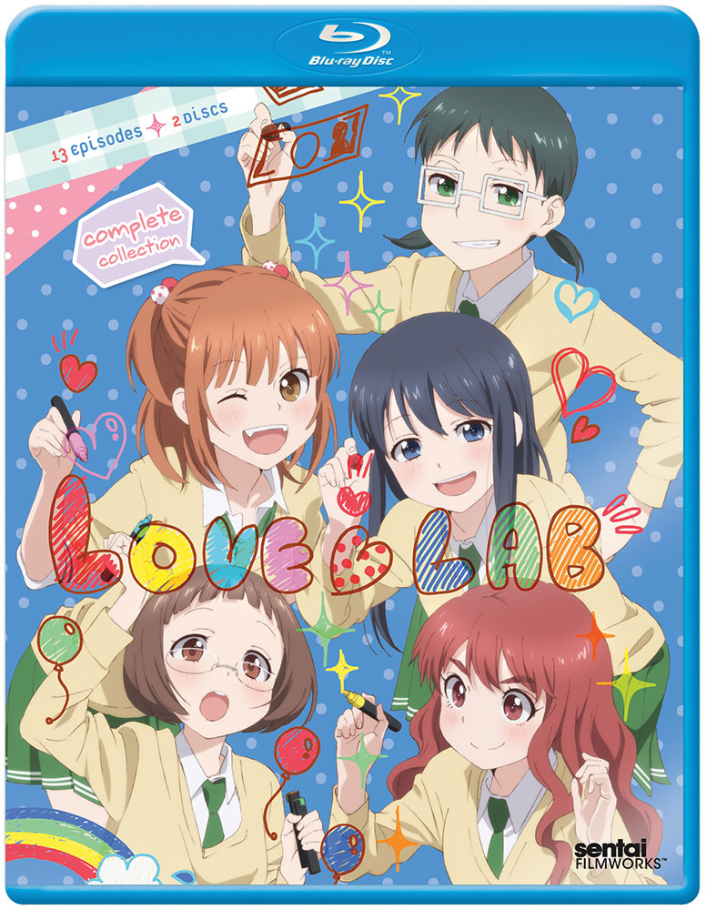 Love Lab Blu-ray 814131016454