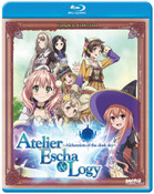 Atelier Escha & Logy Alchemists of the Dusk Sky Blu-ray