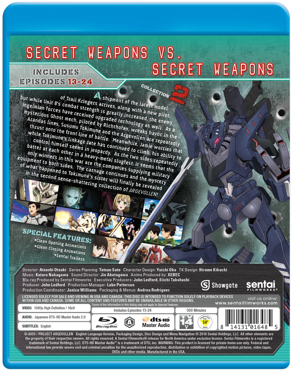 ARGEVOLLEN Collection 2 Blu-ray