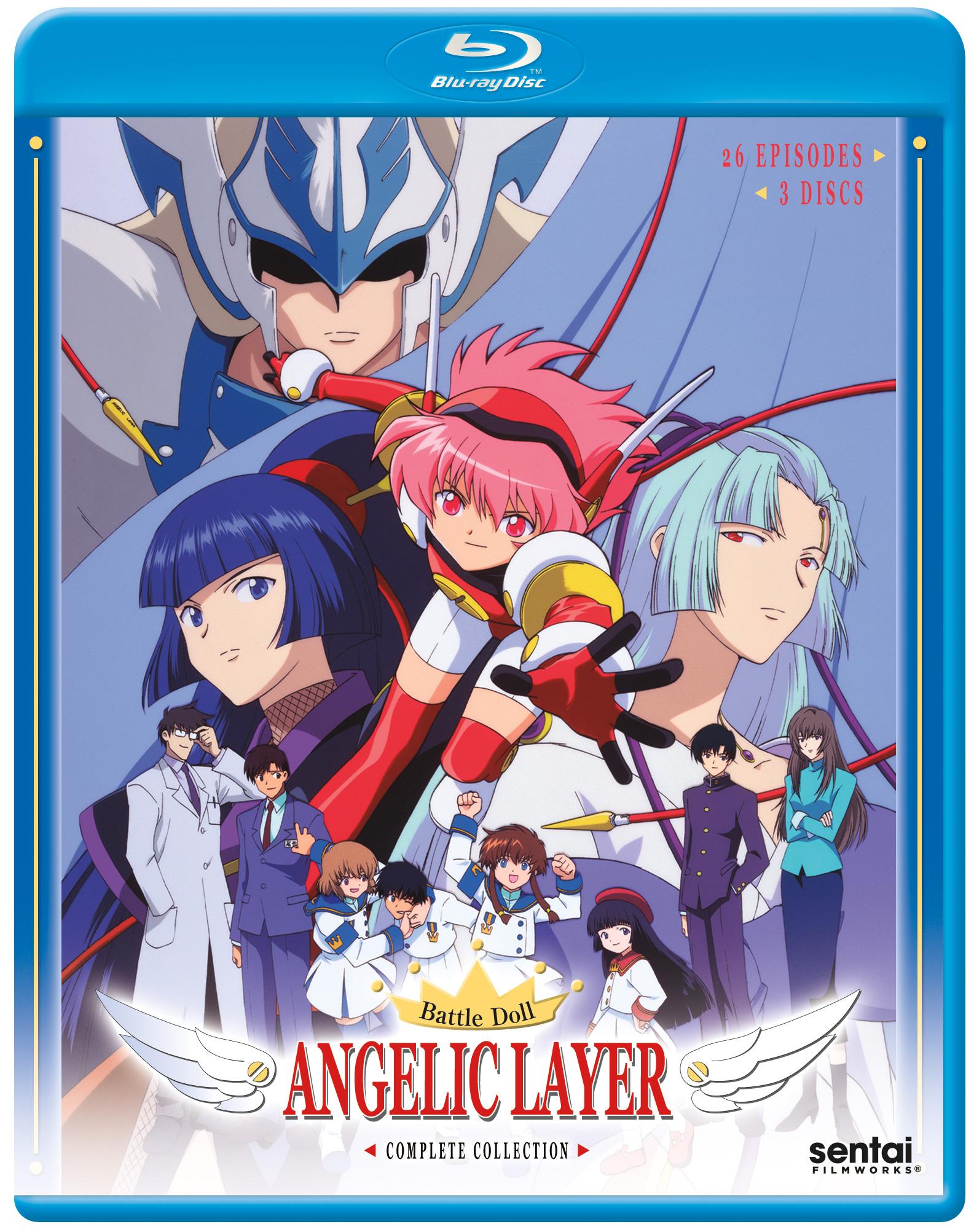 Angelic Layer Blu-ray