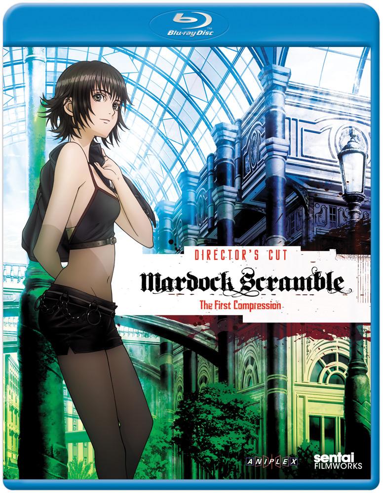 Mardock Scramble The First Compression Director's Cut Blu-ray 814131016515