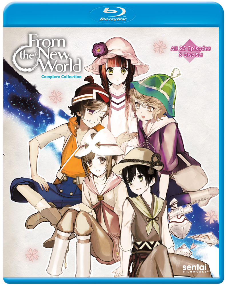 From the new world complete collection blu ray