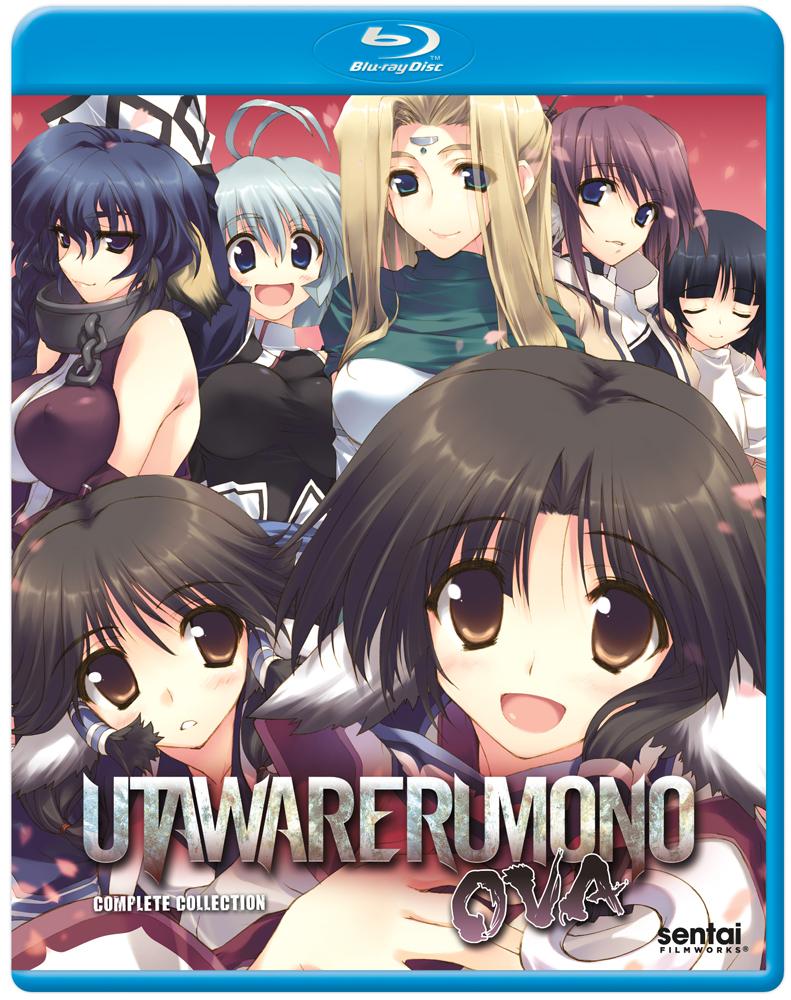 Utawarerumono OVAs Blu-ray 814131016584