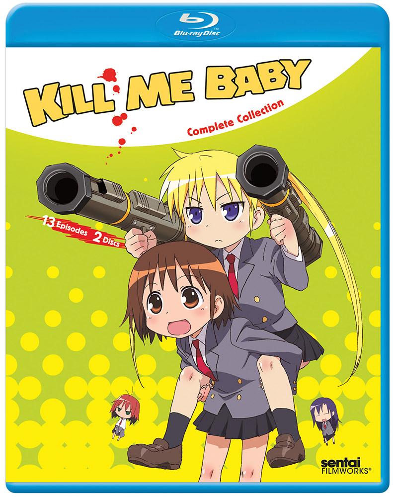 Kill Me Baby Blu-ray 814131016645