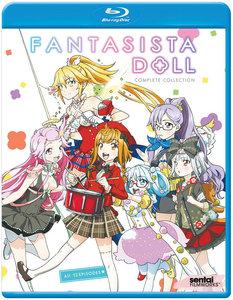 Fantasista Doll Blu-ray 814131016652