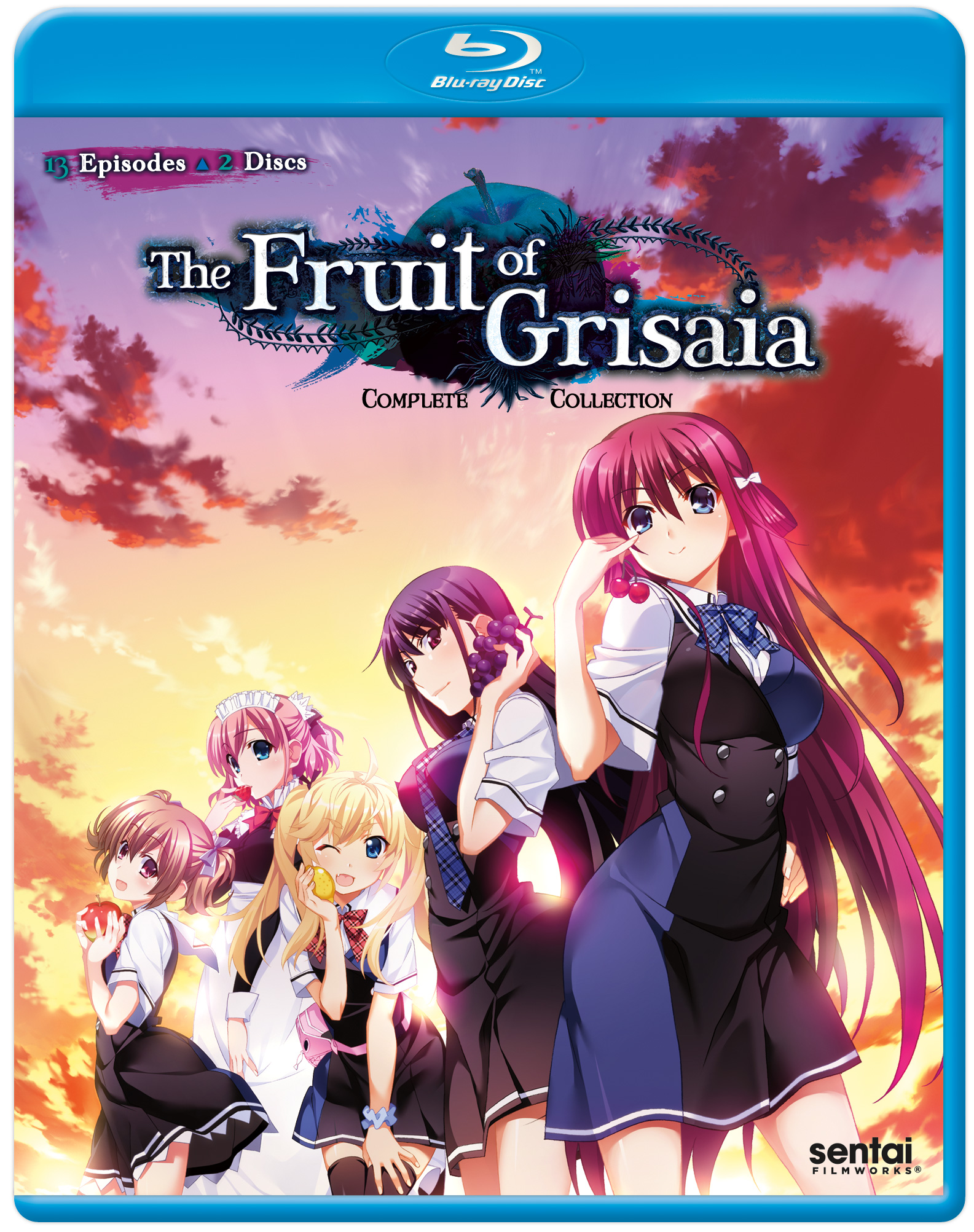 Fruit of Grisaia Season 1 Blu-ray 814131016683