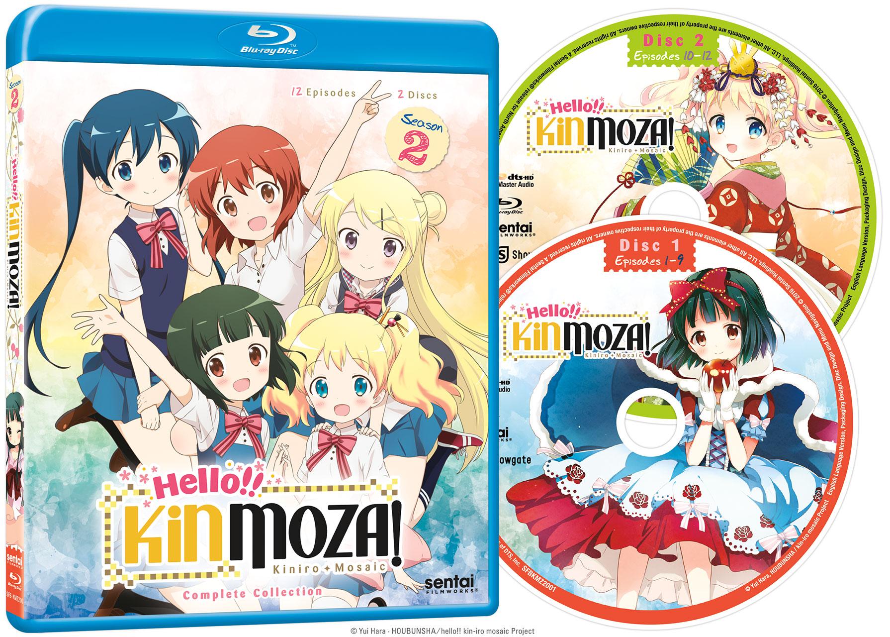 Hello!! Kinmoza! Blu-ray