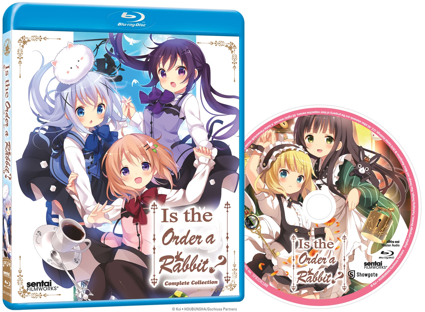 Is the Order a Rabbit? Blu-ray