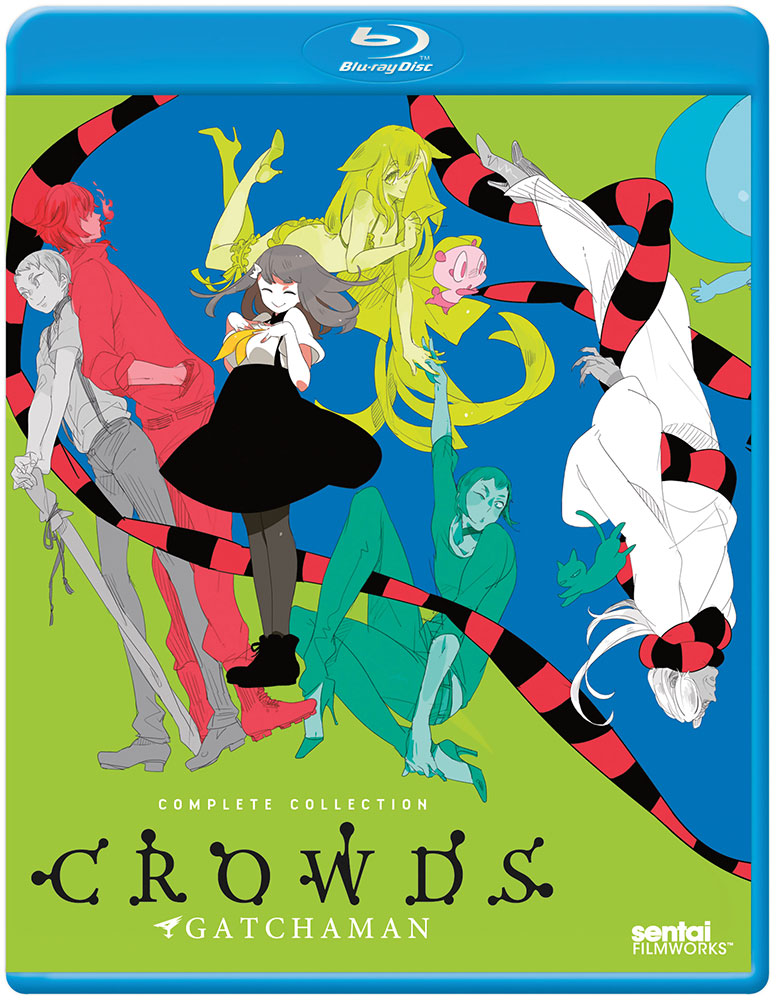 Gatchaman Crowds Blu-ray 814131016850
