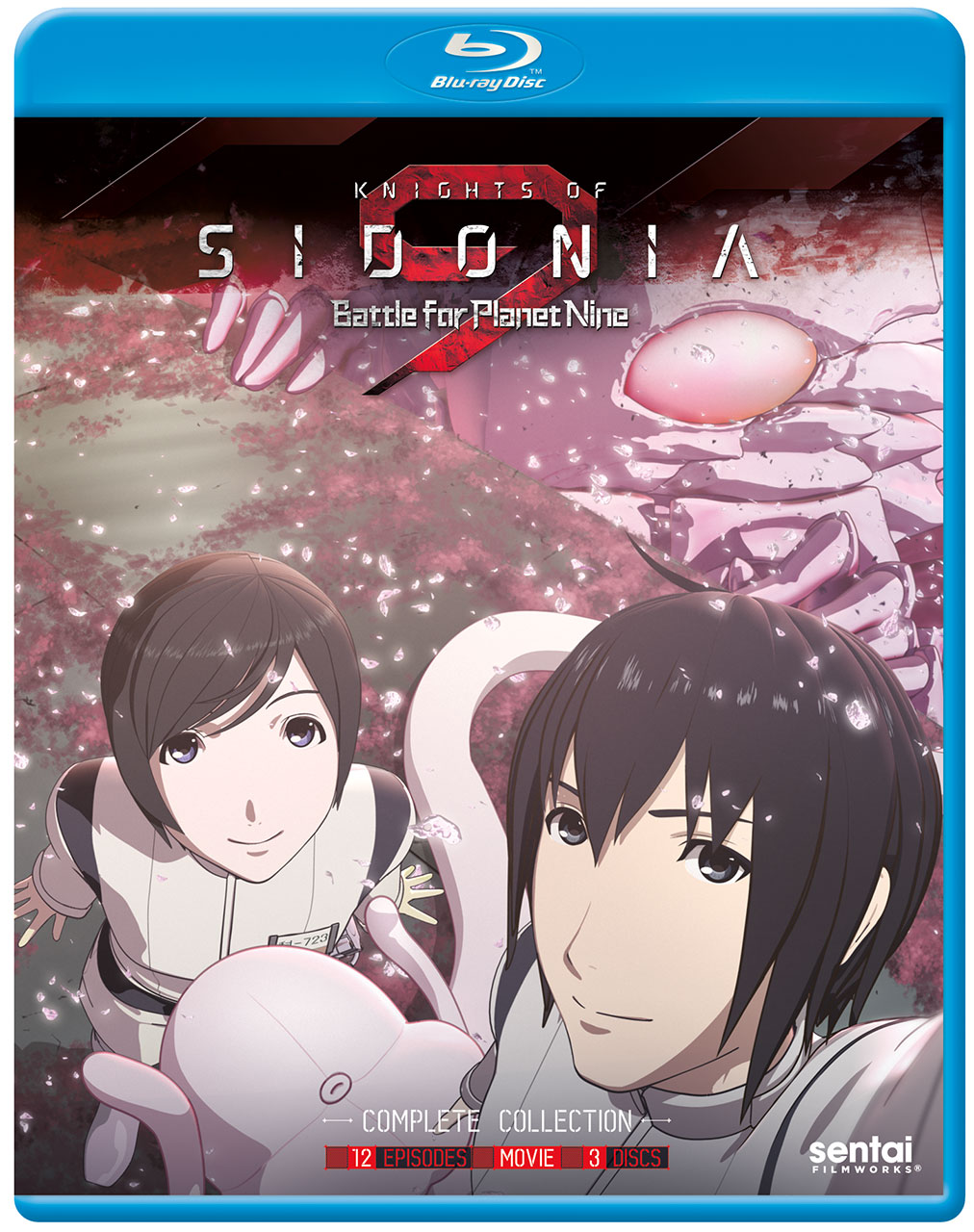 Knights of Sidonia Season 2 Blu-ray 814131016898