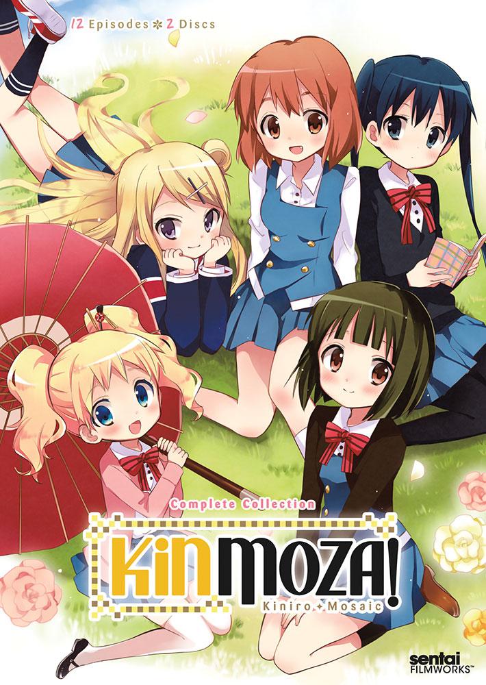 Kinmoza Kiniro + Mosaic DVD 814131016959