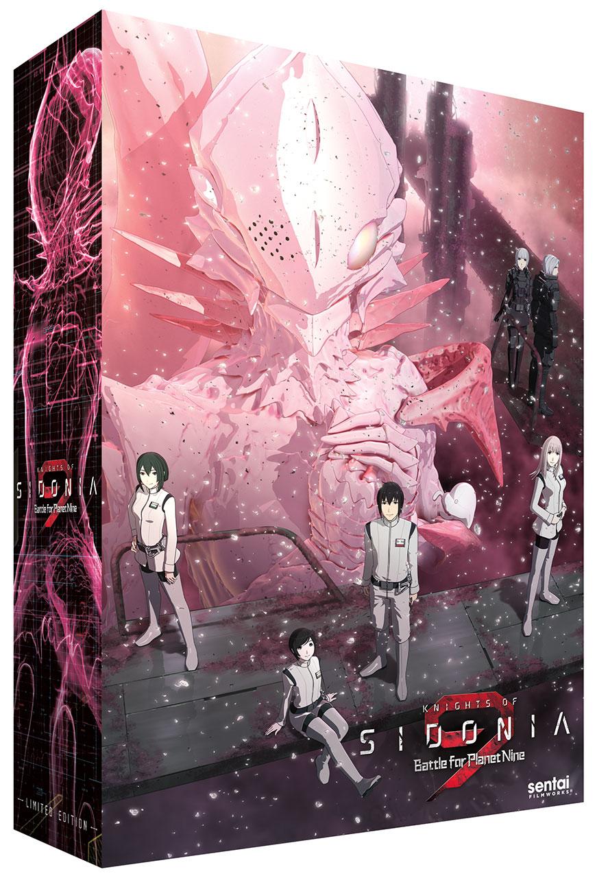 Knights of Sidonia Season 2 Premium Edition Blu-ray/DVD Box Set