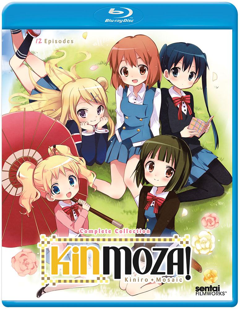 Kinmoza Kiniro + Mosaic Blu-ray 814131017055
