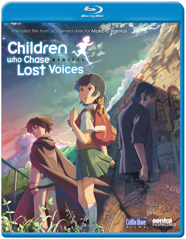 Children Who Chase Lost Voices Blu-ray 814131017123