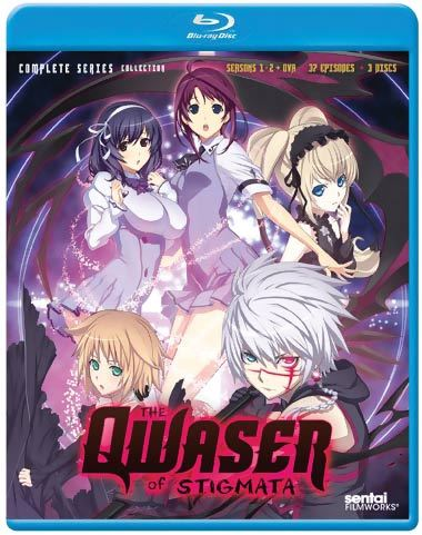 Qwaser of Stigmata Complete Series Blu-ray 814131017161