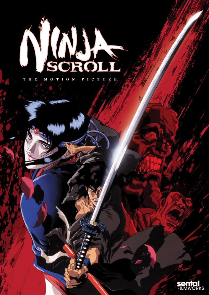 Ninja Scroll DVD 814131017222