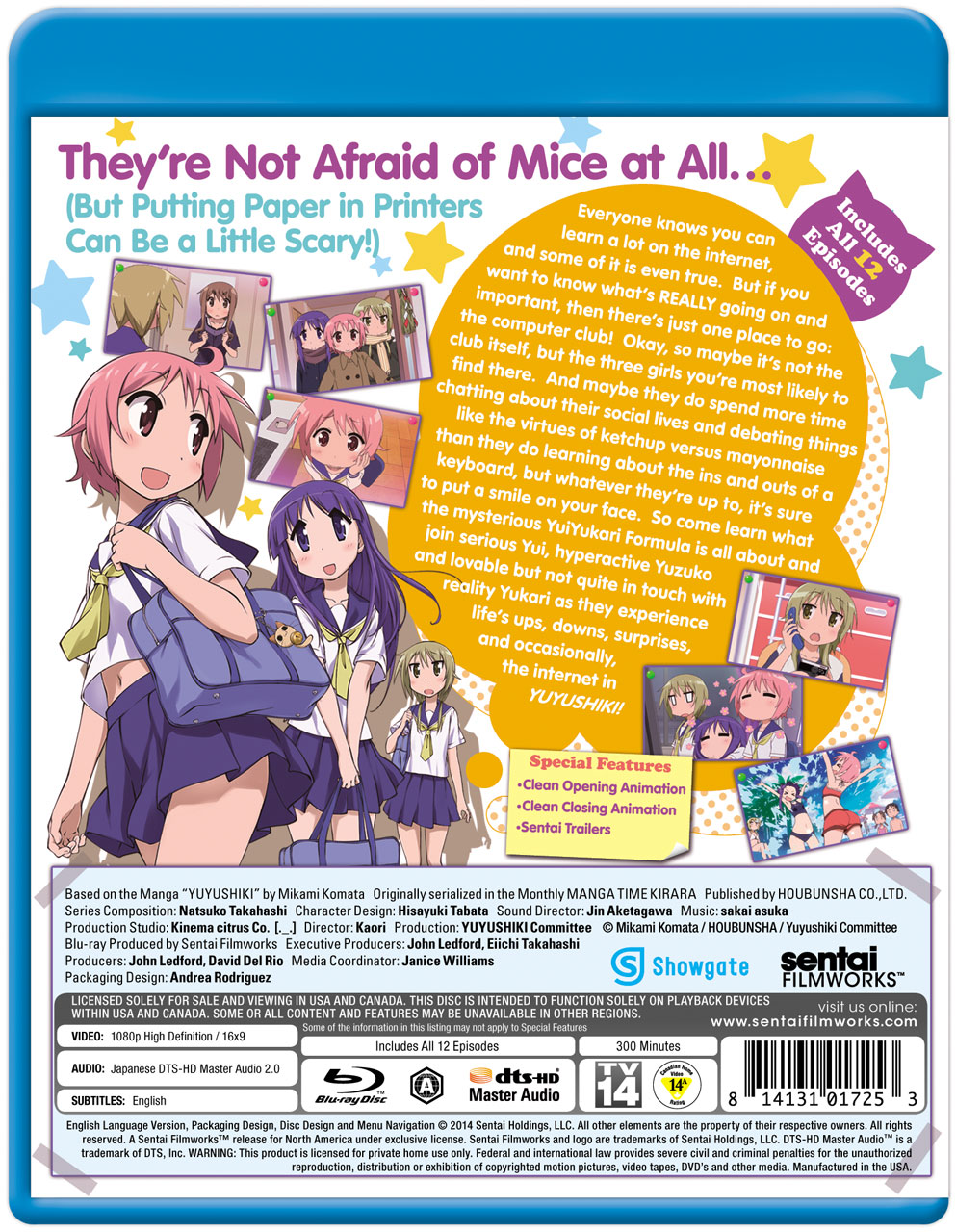 Yuyushiki Blu-ray