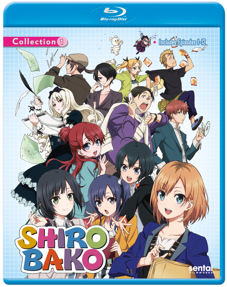 Shirobako Collection 1 Blu-ray 814131017284
