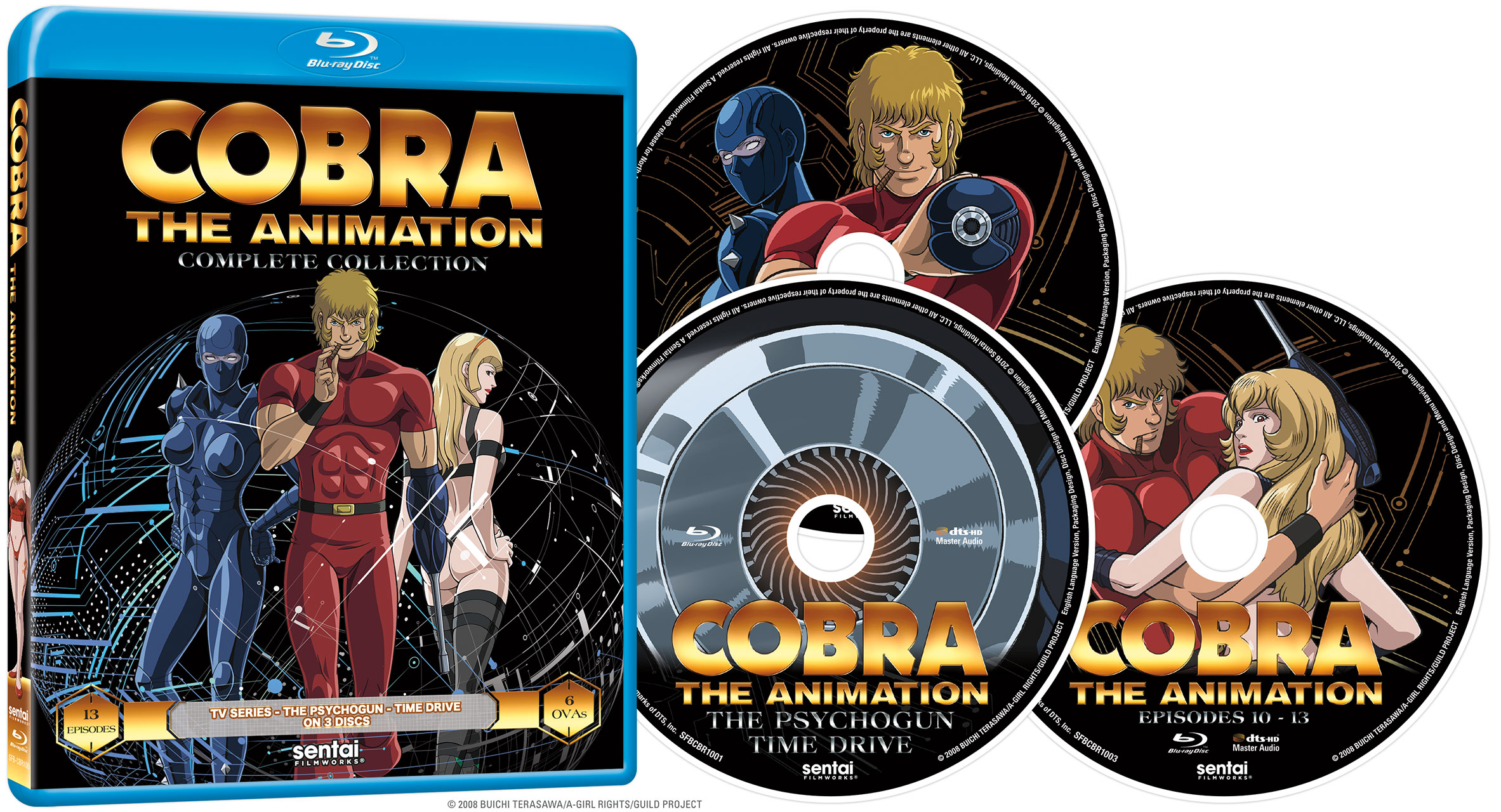 Cobra the Animation Blu-ray