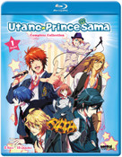 Uta no Prince-sama Season 1 1000% Blu-ray