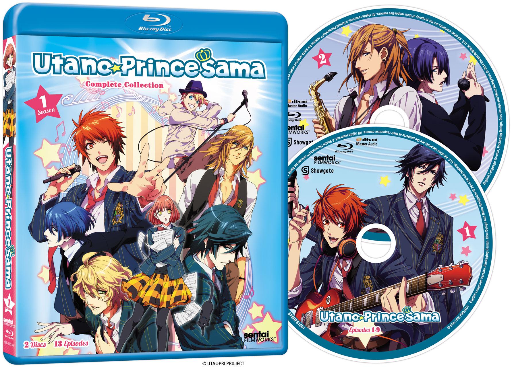 Uta no Prince-sama Season 1 1000% Blu-ray