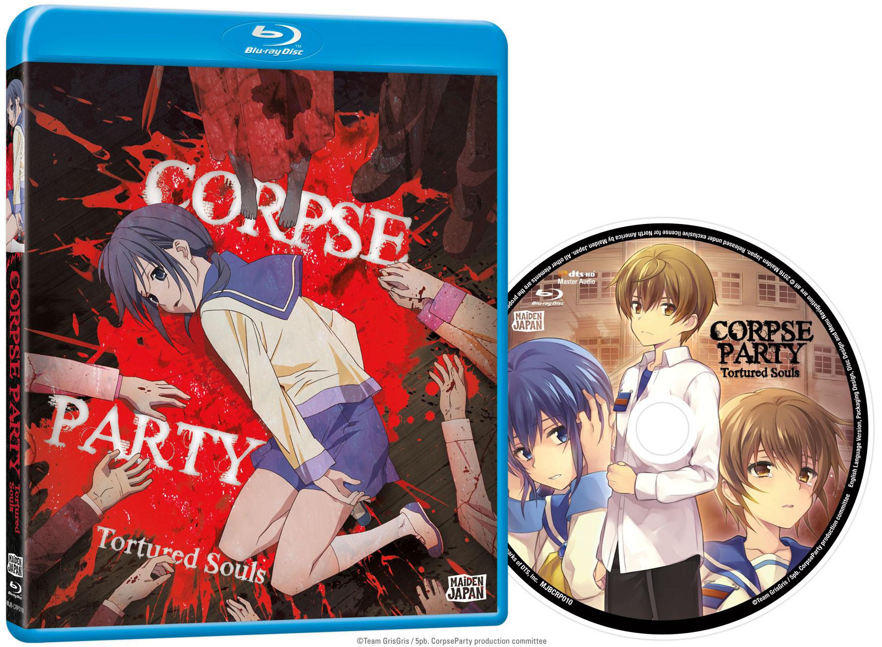 Corpse Party OVA Blu-ray