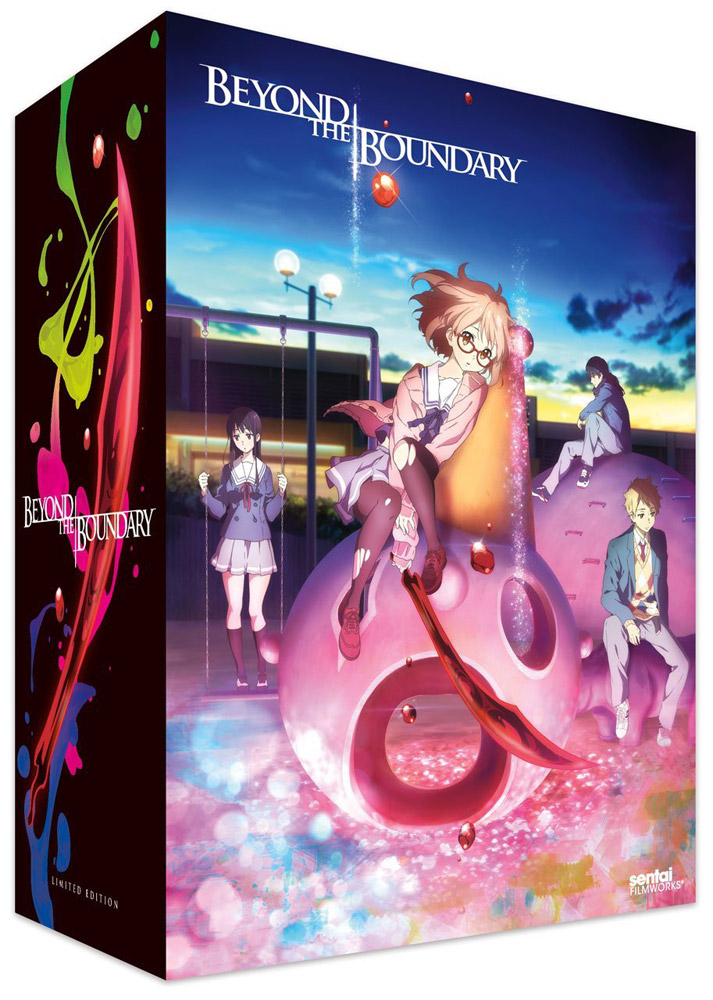 Beyond the Boundary Collector's Edition Blu-ray/DVD 814131017475