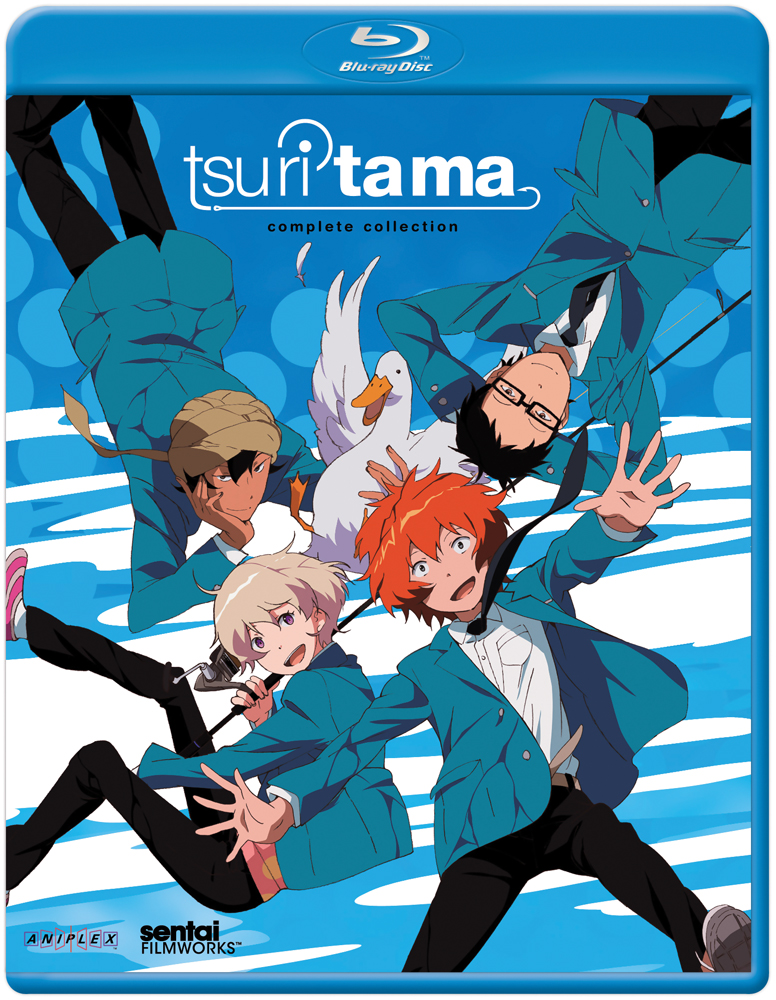 Tsuritama Blu-ray Complete Collection (Hyb) 814131017536