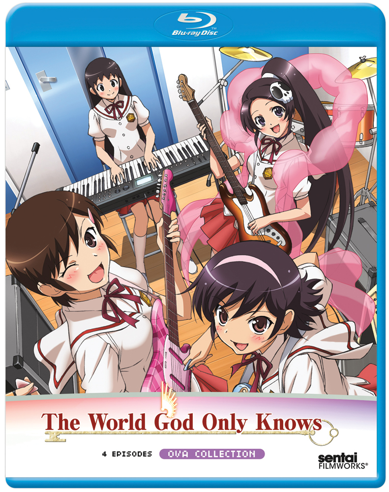 The World God Only Knows OVA Blu-ray 814131017567