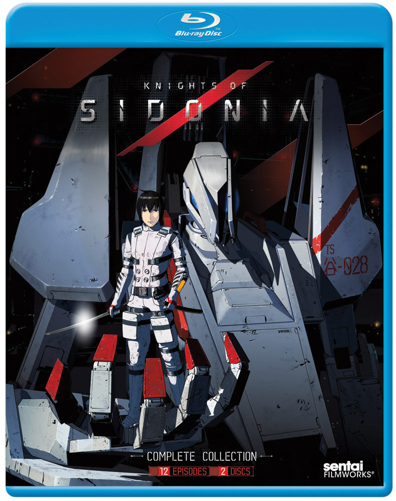 Knights of Sidonia Season 1 Blu-ray 814131017574