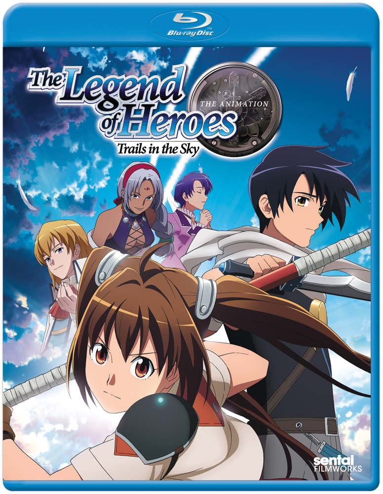 The Legend of Heroes Trails in the Sky Blu-ray 814131017628