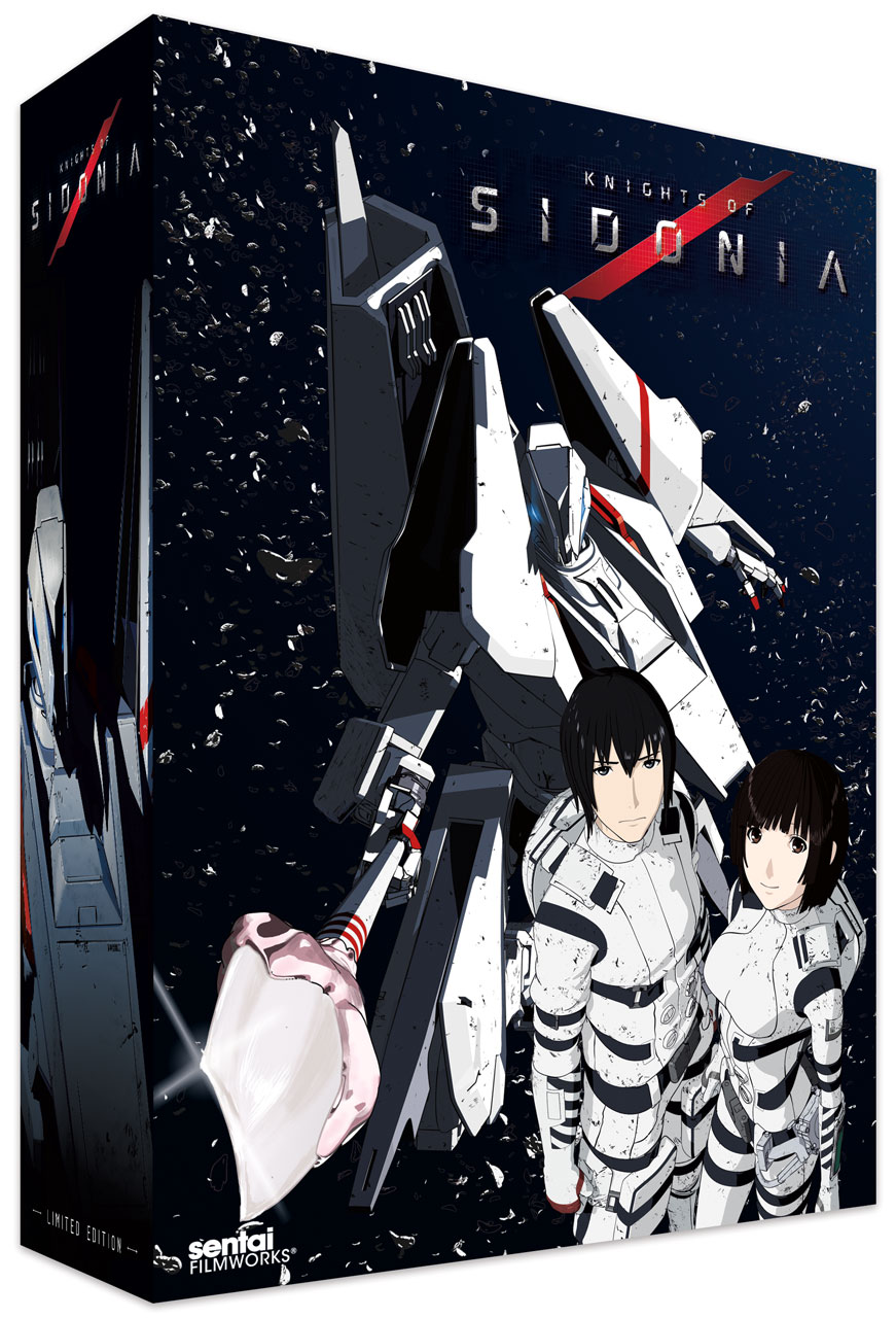 Knights of Sidonia Season 1 Collector's Edition Blu-ray/DVD 814131017673