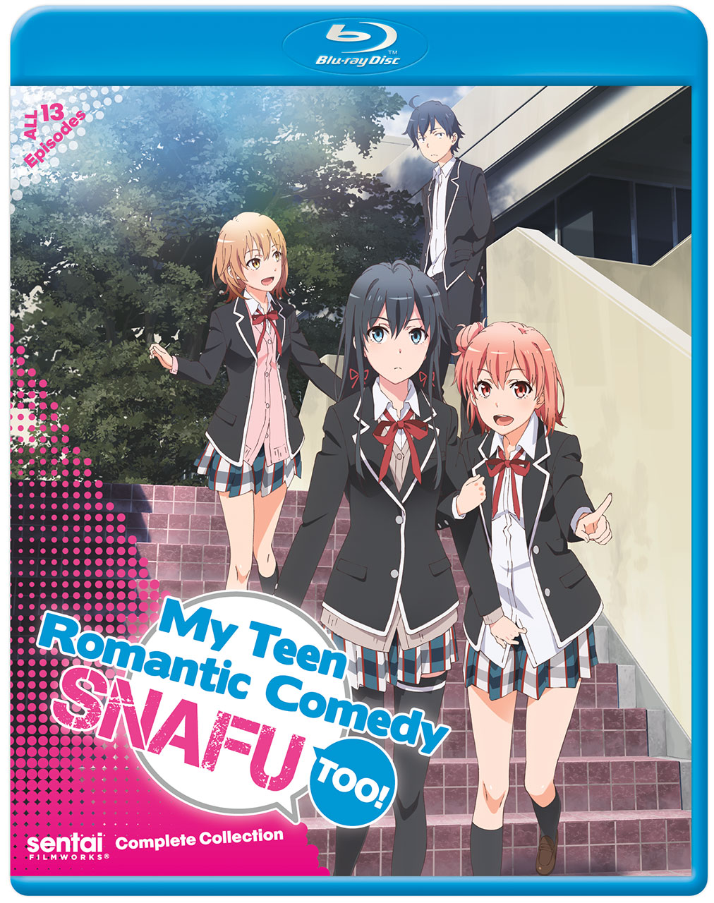 My Teen Romantic Comedy SNAFU Season 2 Blu-ray 814131017697