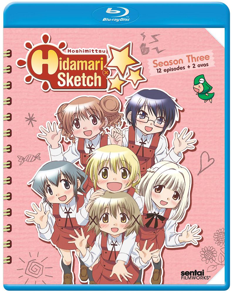 Hidamari Sketch Season 3 (x Hoshimittsu) Blu-ray 814131017758