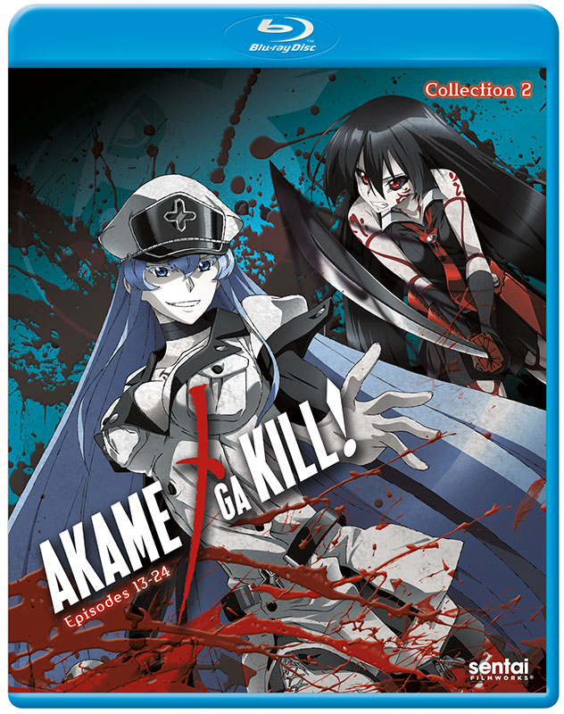 Akame ga Kill Collection 2 Blu-ray 814131017789