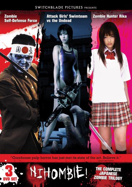 Zombie Triple Feature DVD LiveAction