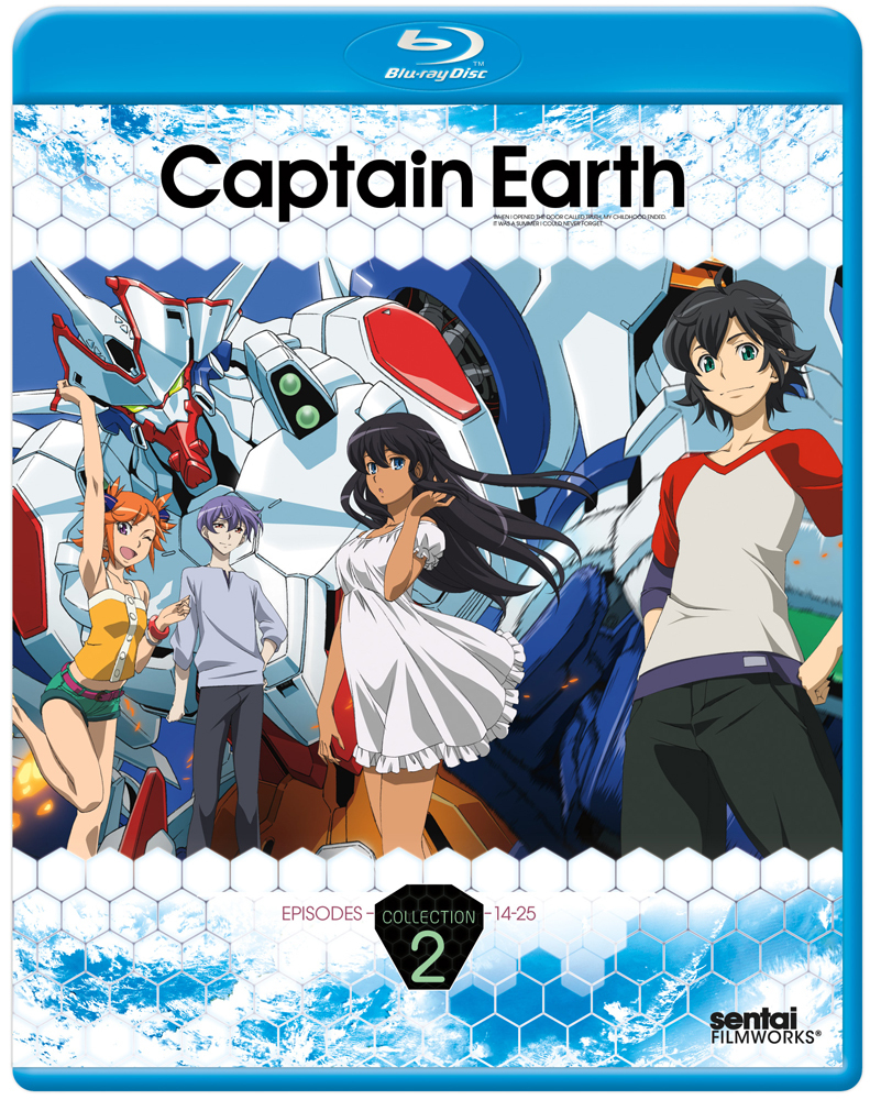 Captain Earth Collection 2 Blu-ray 814131017871